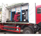 Vehicle-type Hydraulic Pressure & Gas Leak Test System